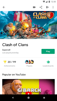 Google Play Games APK screenshot 1