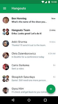 Hangouts APK screenshot 1