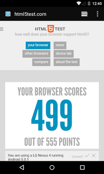 Android System WebView APK screenshot 1
