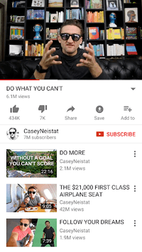 YouTube APK screenshot 1