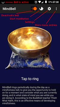 MindBell (Mindfulness Bell & Meditation Timer) APK screenshot 1