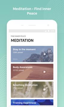 Keep Yoga - Yoga & Meditation, Yoga Daily Fitness APK screenshot 1
