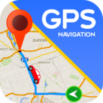 Maps GPS Navigation Route Directions Location Live icon