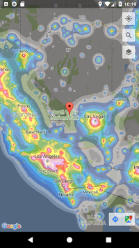 Dark Sky Map APK screenshot 1