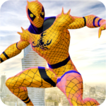 Flying Spider Hero Adventure Fight 2018 icon