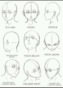 Manga Drawing Sketch Guides APK screenshot 1