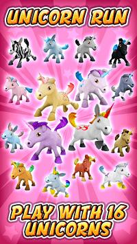 Unicorn Runner 3D - Horse Run APK screenshot 1