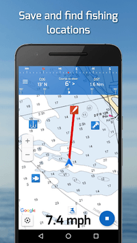 Fishing Points: GPS, Tides & Fishing Forecast APK screenshot 1