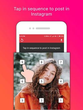 Grid Photo Maker for Instagram APK screenshot 1