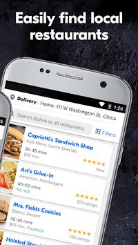Grubhub: Local Food Delivery APK screenshot 1