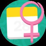 Menstrual & Ovulation Calendar icon