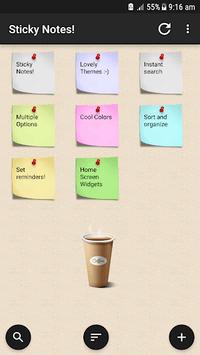 Sticky Notes ! APK screenshot 1