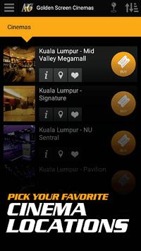 Golden Screen Cinemas APK screenshot 1