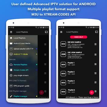 GSE SMART IPTV APK screenshot 1