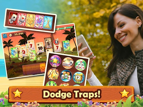 Solitaire TriPeaks: Play Free Solitaire Card Games APK screenshot 1