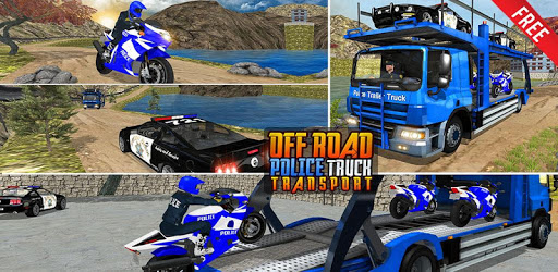 OffRoad Police Transport Truck pc screenshot
