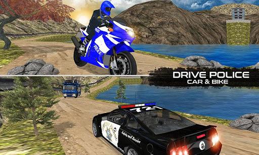 OffRoad Police Transport Truck APK screenshot 1