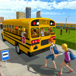 Modern City School Bus Simulator 2017 APK icon