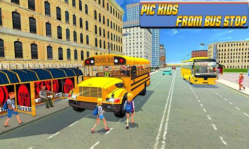 Modern City School Bus Simulator 2017 APK screenshot 1