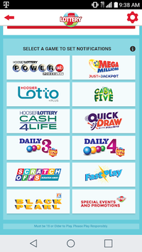Hoosier Lottery APK screenshot 1