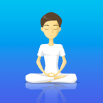 Pause - Guided Meditation and sleep story App icon