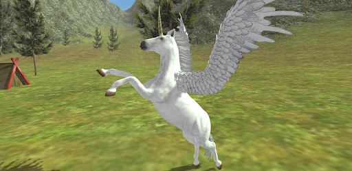 Flying Unicorn Simulator Free pc screenshot
