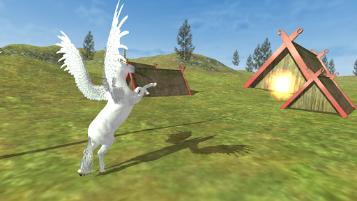 Flying Unicorn Simulator Free APK screenshot 1