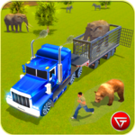 Animal Transport Truck Driving Game 2018 icon