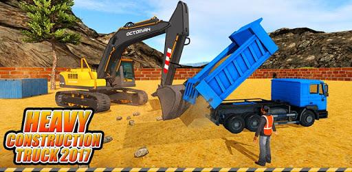 Heavy Excavator Crane: Construction City Truck 3D pc screenshot