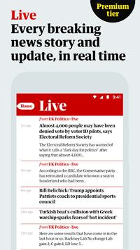 The Guardian: Top Stories, Breaking News & Opinion APK screenshot 1