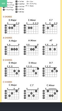 Basic Guitar Chord APK screenshot 1