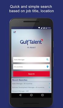 GulfTalent - Job Search in Dubai, UAE, Saudi, Gulf APK screenshot 1