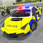 Police Car Driving - Police Chase icon