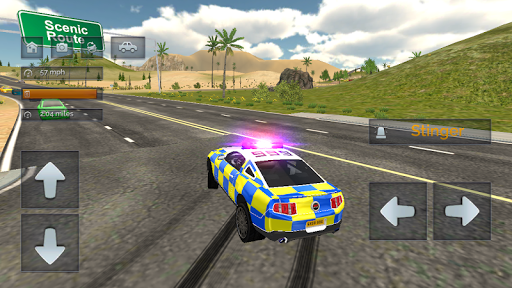 Police Car Driving - Police Chase APK screenshot 1