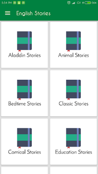 Classical English Stories Offline APK screenshot 1
