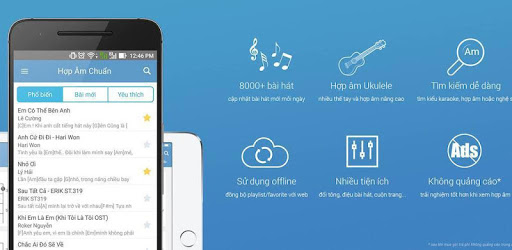 Hop Am Chuan - Guitar Tabs and Chords pc screenshot