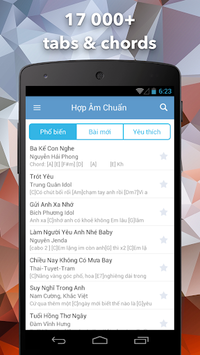 Hop Am Chuan - Guitar Tabs and Chords APK screenshot 1