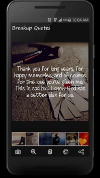 Sad Love Quotes & Broken Heart Sayings with Images APK screenshot 1
