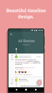 Stories – Timeline Diary / Journal, Mood Tracker APK screenshot 1