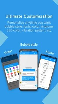 Handcent Next SMS(Free Messenger for texting, MMS) APK screenshot 1