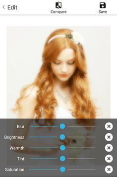 Soft Focus : beautiful selfie APK screenshot 1