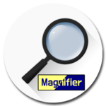 Magnifier 4 reader icon