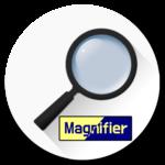 Magnifier 4 reader APK icon