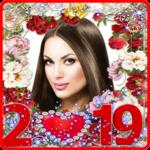 Happy New Year Photo Frame 2019 icon