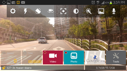 AutoBoy Dash Cam - BlackBox APK screenshot 1