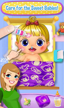 My Baby Daycare Story: Sweet Newborn Games! APK screenshot 1