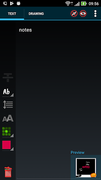 Another Note Widget APK screenshot 1