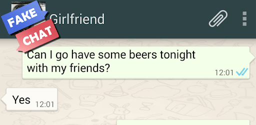 Fake chat