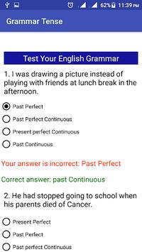 Grammar Tense APK screenshot 1