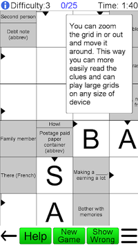 Arrow Crossword APK screenshot 1